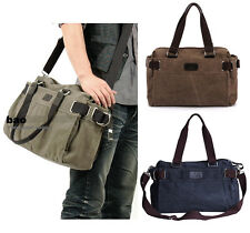 Mens Vintage Canvas shoulder bag handbag Messenger Sling school Bags 62#