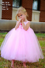 Flower Girl Dress for Wedding Tutu Dress And Birthday Girl Party Costumes
