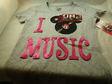 Disney Minnie Mouse Zappar girls shirt Pink Record watch your shirt H24