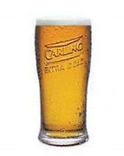 Personalised Engraved 1 pint Embossed Carling Extra Cold Lager Beer Glass