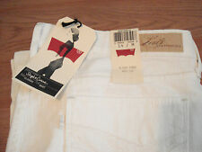 AUTHENTIC NWT Classic Slight Curve Boot Cut womens white Jeans**SUPER CLASSY***