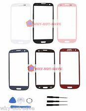 Front screen glass replacement part for Samsung Galaxy s3 SIII Phone Display New