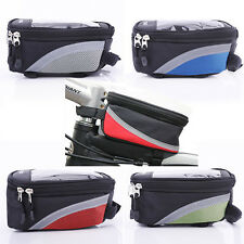 New Bicycle Mobile Phone Holder Cycle Bike Handlebar iPhone Farme Pouch Bag Case