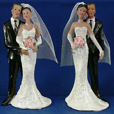 Ethnic (Black) Couple Cake Topper - Available in 2 Poses