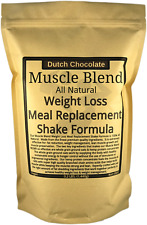 Muscle Blend Weight Loss Meal Replacement Shake Formula All Natural
