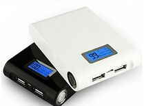 12000mAh Portable LCD External Battery Power Charger Bank for Samsung Iphone PSP