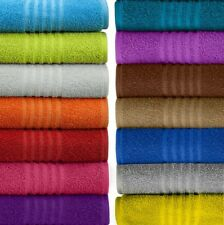 100 Percent Ring Spun USA Cotton Bath Hand Towel Bathroom Towels Soft Absorbent