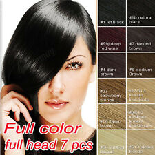 80% Human Hair Extensions Clip In Hair Extension Free Shipping UK Storage