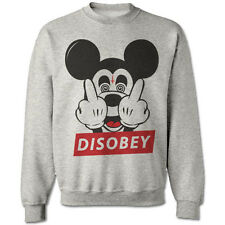 MICKEY FINGER MOUSE SWEATER TRILL ODD DIS OBEY FUTURE SWEATSHIRT HANDS DOPE SWAG