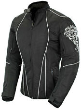 "*Ships Same Day* JOE ROCKET ""Ladies"" Alter Ego 3.0 (Black/White) Textile Jacket"