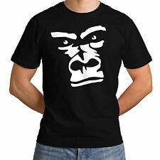 Men New Gorilla Arctic Monkey Top T-Shirt Plush Animal Women Rude Angry Face *c2