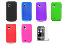 LCD + Soft Silicone Cover Case for Samsung Galaxy S Mesmerize SCH-I500 Phone