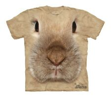 Bunny Face Pet Lover Youth Kids Child Authentic The Mountain T-Shirt