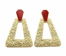 New Hot Trapezoid Shape Cute Sexy Pyramid Look Must Have Trendy Earrings DE1061
