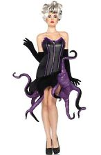 Brand New Adult Disney™ Villains Ursula Fancy Dress Outfit Halloween Costume