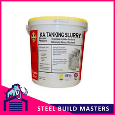 20 x KA TANKING SLURRY - 25kg BUCKETS - WATER & DAMP PROOFING - GREY OR WHITE