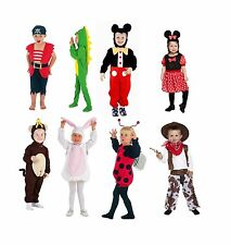 UNISEX Toddler Fancy Dress Up Kids Children Complete Outfit 2-3 Years Old Party