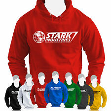 Iron Man Stark Industries Hoodie Avengers Assemble Marvel Comic Series Top
