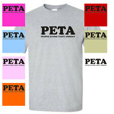 PETA People Eating Tasty Animals bacon funny MENS T-SHIRT