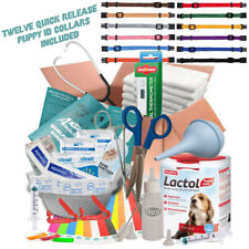 BUILD YOUR OWN WHELPING KIT PUPPY KITTEN, CORD CLAMPS, HEAT PAD, CORD SCISSORS