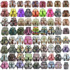 Ladies Butterfly Owl Aztec Shoes Retro Backpack Rucksack Shoulder School HandBag