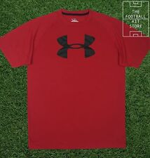 BNWT - Official Under Armour Logo T-Shirt - All Sizes - Red