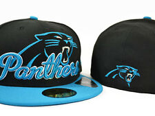 Carolina Panthers SCRIPT DOWN FITTED 59Fifty Authentic NFL Hat by New Era