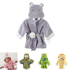 Baby Children Cute Bathrobes Multi Animal Style Breathable Lovey Washable