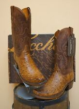 MENS LUCCHESE COWBOY BOOTS! 1883 COLLECTION! NIB- GENUINE OSTRICH! N1062.74!