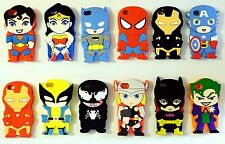 SuperHeroes Silicone Rubber Back Cover Case For Apple iPhone 4 / 4S  -UK SELLER