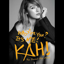 KAHI (After School) - Who are you? (2nd Mini Album) CD + Poster + Free Photo