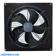 Industrial Ventilation Extractor Metal Axial Exhaust Commercial Blower Plate Fan