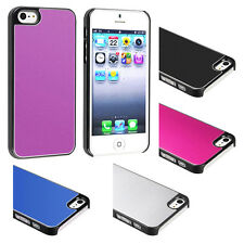 Custodia Clip-on per APPLE IPHONE 5 5G COLORI Gelo Alluminio