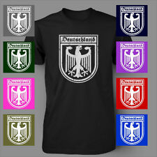 DEUTSCHLAND GERMANY EAGLE CREST German soccer jersey Mens T-Shirt