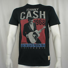 Authentic JOHNNY CASH One More Song Jim Marshall Photo Folsom T-Shirt S-XL NEW