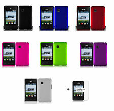 Hard Case Phone Cover for LG 840G LG840G Tracfone+Free Screen Protector