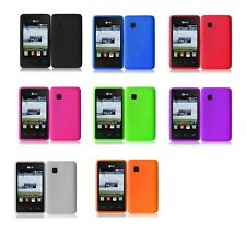 Silicon Soft Skin Case for LG 840G LG840G Tracfone+Free Screen Protector