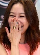 The Master's Sun : Kong Hyo Jin - Simple Bold Ring [#DR04]