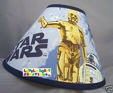 Star Wars C3PO and R2D2 Lamp Shade (Handmade in USA after your order is placed.)