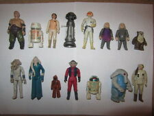 VINTAGE STAR WARS ORIGINAL KENNER ACTION FIGURES COND. C7/C8/C9 MANY TO SELECT