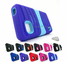 for LG Optimus F3 LS720 EXOSTC Dual Layer Kickstand Phone Case Cover+Prytool