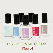 ESSIE Gel Color PART 1  Pick ANY Shade Soak Off UV LED Nail Polish Base Top Coat