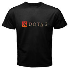 DOTA 2 Defense of the Ancients Multiplayer Game Logo Black T-Shirt Size S to 3XL