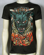 Authentic MEMPHIS MAY FIRE Wolf Dream Catcher T-Shirt S M L XL 2XL NEW