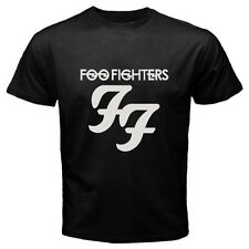 FOO FIGHTERS Dave Grohl Rock Band Logo Men's Black T-Shirt Size S M L XL 2XL 3XL