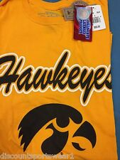 Iowa Hawkeyes College T shirt.  Assorted colors/styles.  NEW WITH TAGS!!!