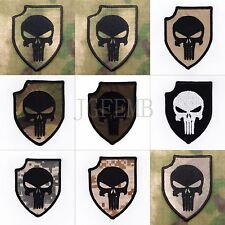 ACT OF VALOR PUNISHER SealTeam6 morale military Embroidery Velcro Patch Badges