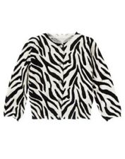 GYMBOREE WILD FOR ZEBRA ZEBRA PRINT CARDIGAN SWEATER 3 4 5 6 10 12 NWT