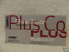 YUNSEY Professional PLUS COLOR Hair Color Cream (Levels 8 & Above) ~ 2.03 oz!!