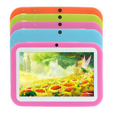 "7"" Android 4.1 8GB Children Tablet PC Bluetooth HDMI Dual Cameras WIFI LAN 3G"